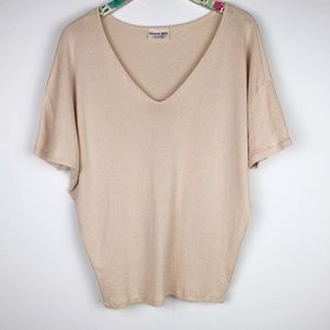 Michael Stars Original Tee One Size Fits Most Top